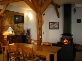 Gîte l'Agora: La salle à Manger