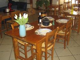 Gîte l'Agora: Table d'Hôtes